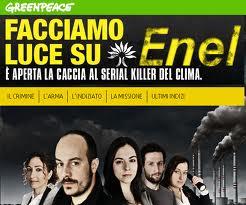 Greenpeace Enel il sito da chiudere
