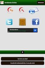 ambiente diritto App android
