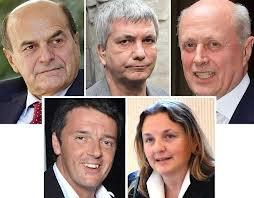 CENTRO-SINISTRA PRIMARIE: Bersani e Renzi al ballottaggio