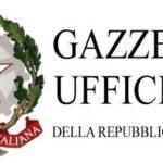 Repubblica Italiana Gazzetta Ufficiale – dal 8 al 13 giugno 2020